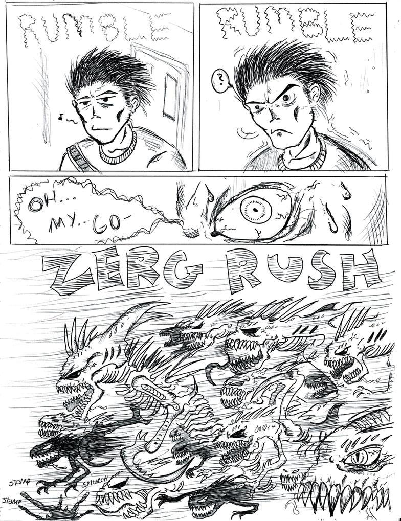 Zerg rush - Zerg Rush By Abelardo