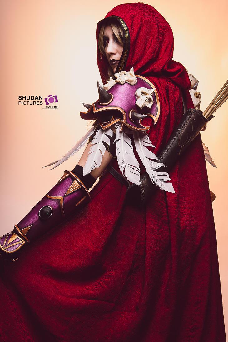 World of Warcraft - Sylvanas Windrunner by Aleke