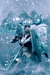 League of Legend - Traditional Sejuani by Aleke