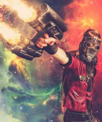 Starlord - Guns Blazing by Aleke