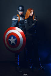 The Captain and The Widow by Aleke