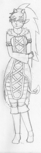 Good Tiefling Witch by Fenrir-son-of-Loki