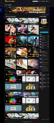 Front page Web project,gaming/clan style by HACKSDENM3RK