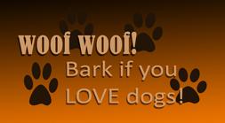 Woof Woof Stamp by amethystmstock