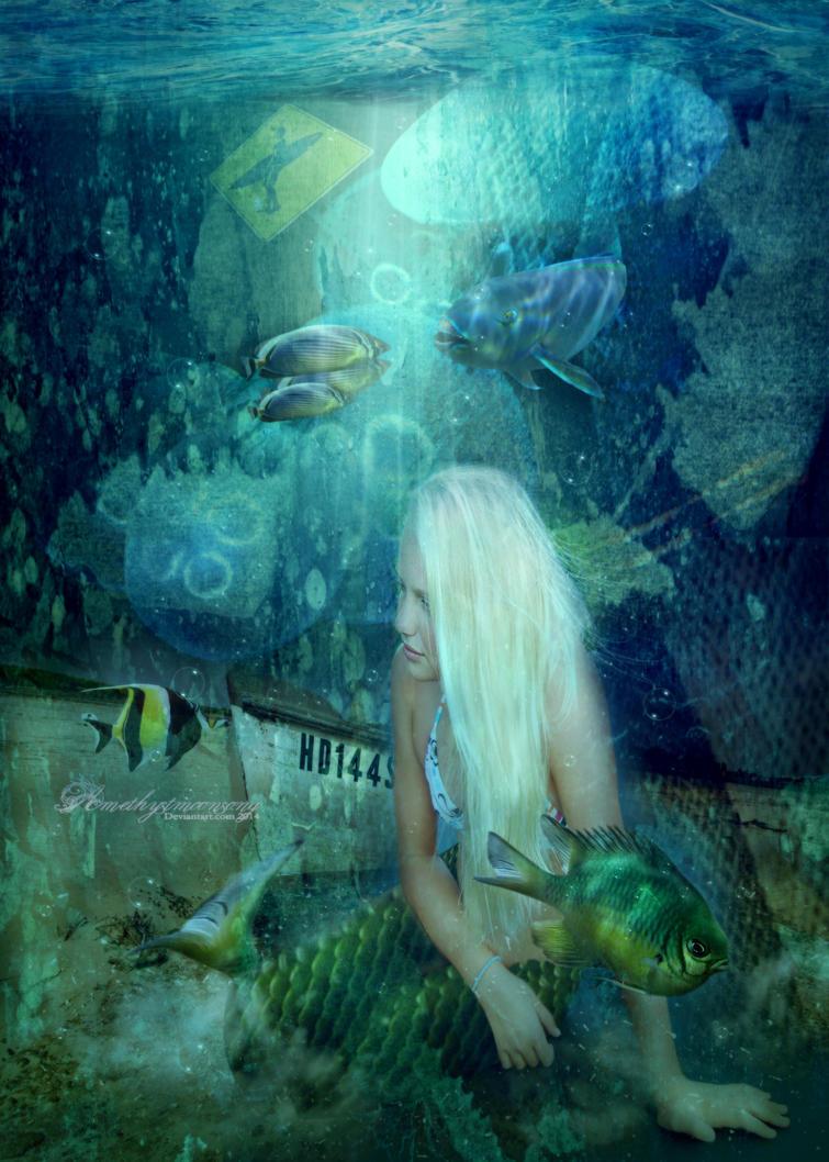Underwater Garden by amethystmstock