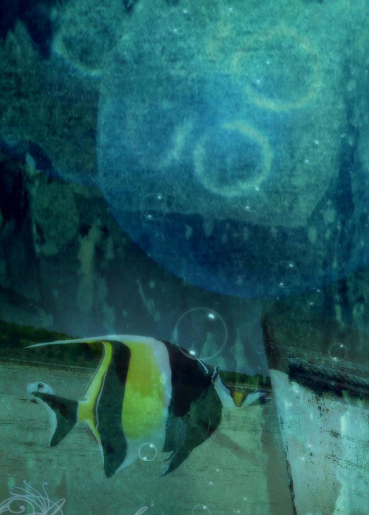 Underwater Garden Detail 4 by amethystmstock