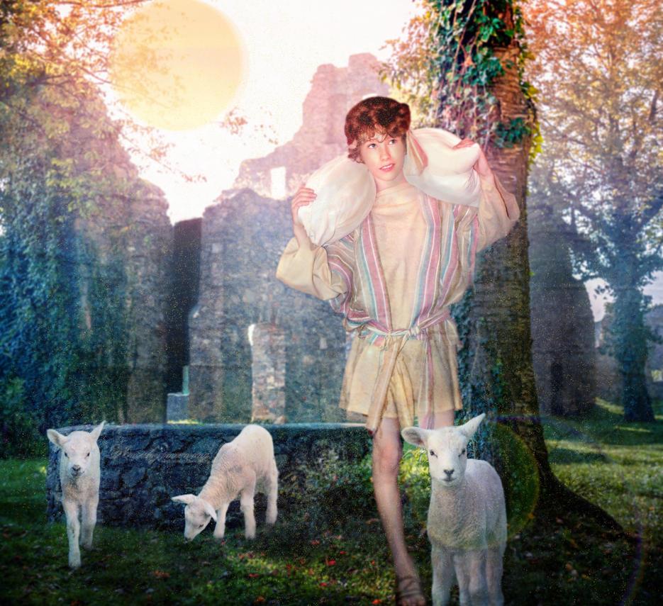 The Shepherds Boy by amethystmstock