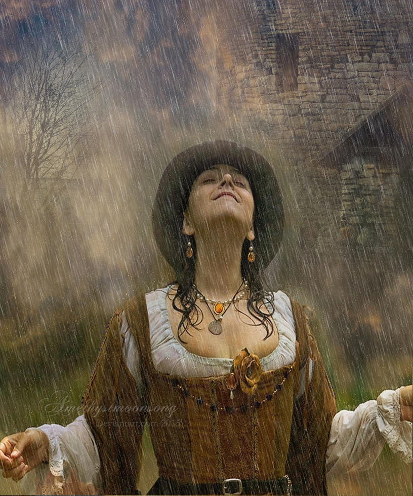 Healing  Rain by amethystmstock