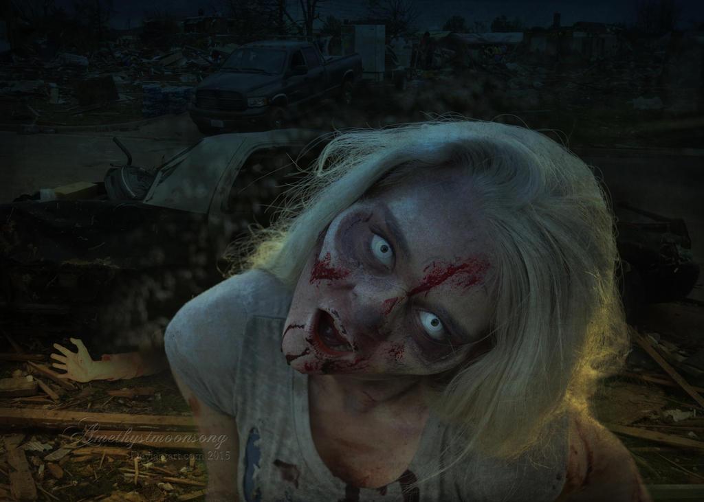 Zombie by amethystmstock