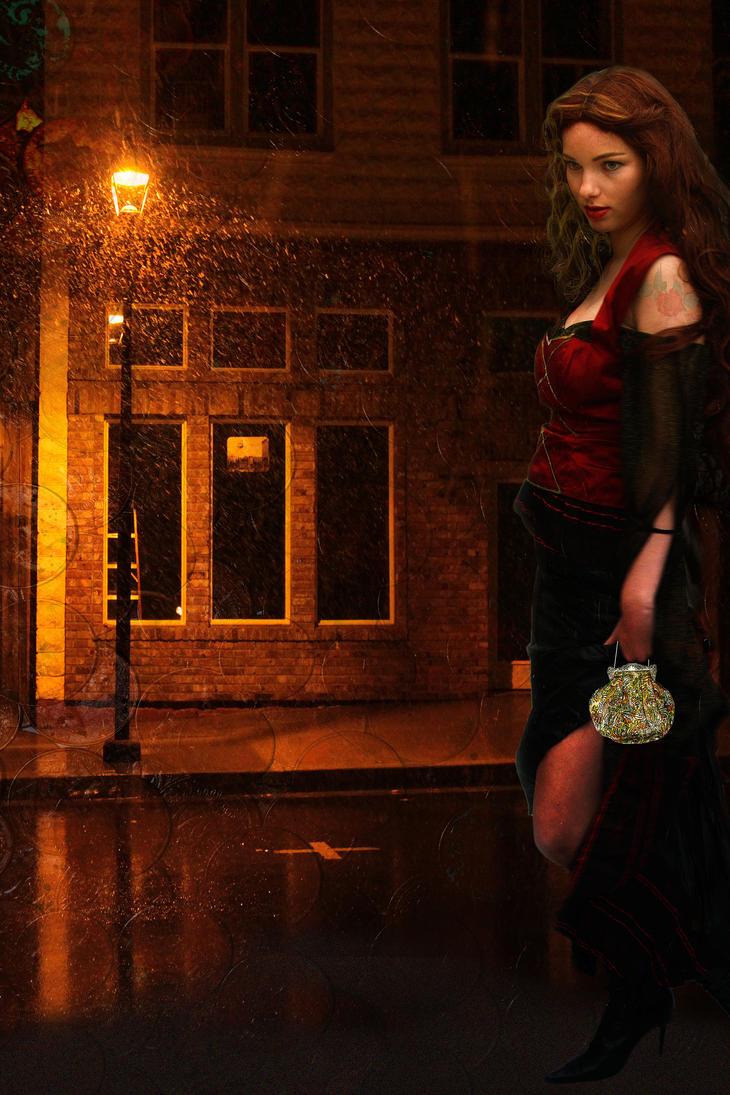 Gypsy Rose by amethystmstock