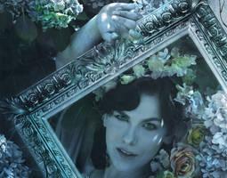 Lady Blue Detail by amethystmstock