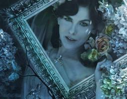 Lady Blue Detail 2 by amethystmstock