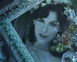 Lady Blue Detail 3 by amethystmstock
