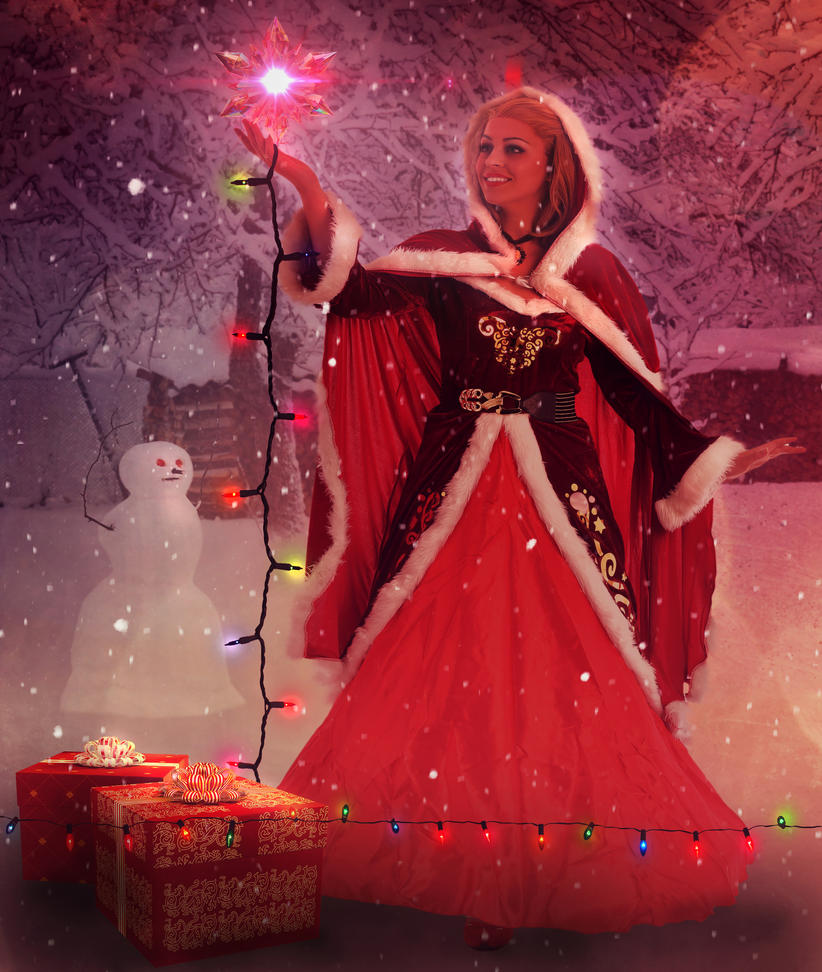 Let It Snow by amethystmstock
