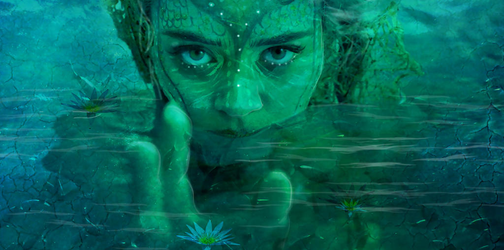 Water Fae  Detail by amethystmstock