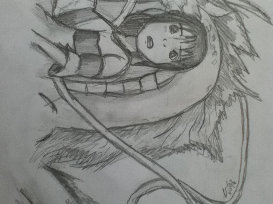 Kohaku and Chihiro by NinaPrettyBallerina