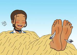 Katara tickled (Avatar)