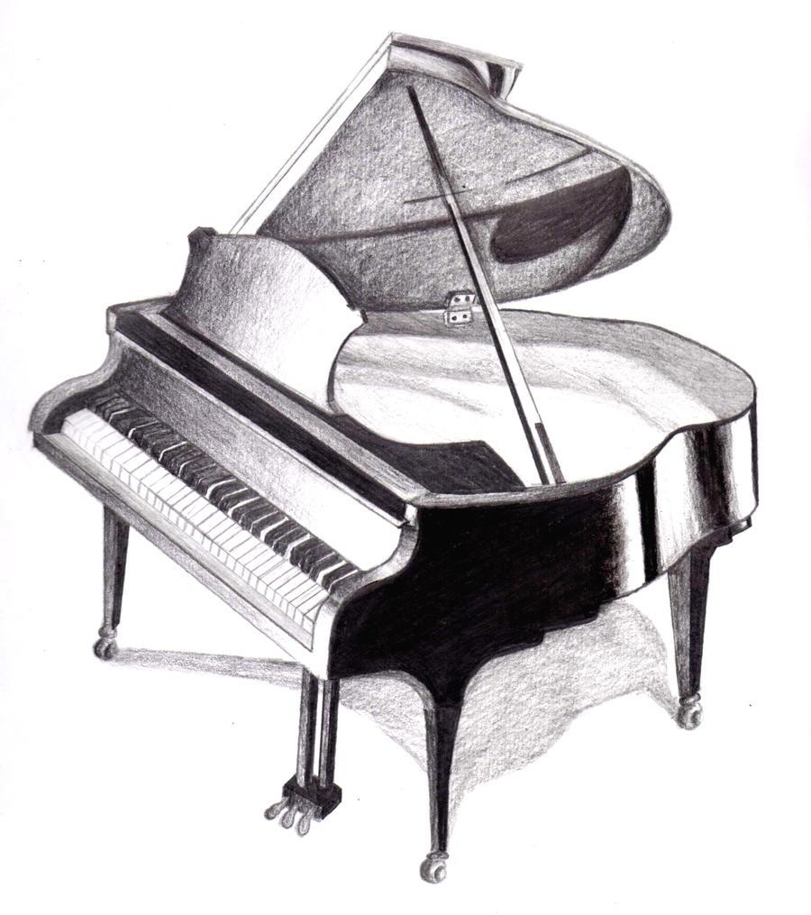 Piano by lovelylittlesunshine on DeviantArt
