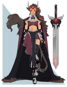 Catra - Shera cosplay concept
