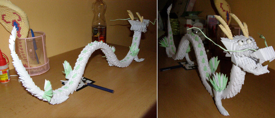 Origami Chinese Dragon by Nuggu on deviantART