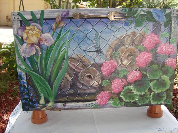 Bunny Rabbit Hutch Box by carefulwhatyawishfor