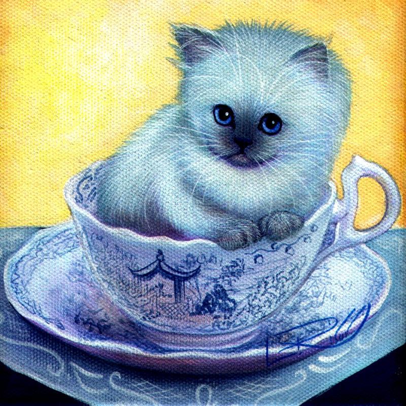 Blue Willow Tea Time by carefulwhatyawishfor