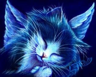 Sleepy Angel by carefulwhatyawishfor