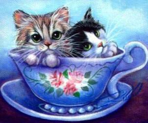 Teacup Twinkies by carefulwhatyawishfor