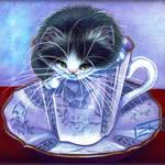 Blue Willow Tuxedo Tea Time
