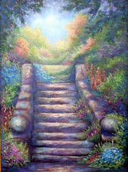 Step to Garden Path by carefulwhatyawishfor