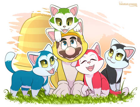 Mario 3D World- Kitty Cuteness!