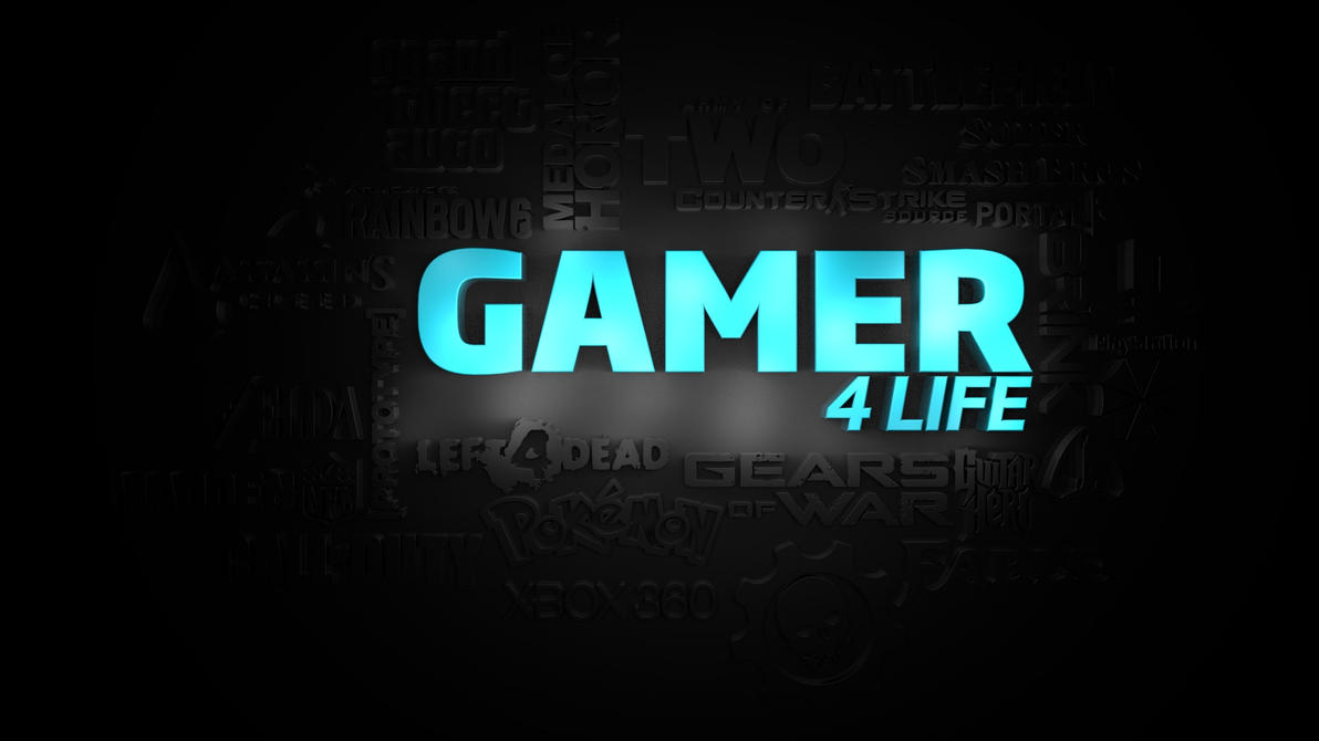 Gamer For Life Wallpaper By ChucklesMedia On DeviantArt