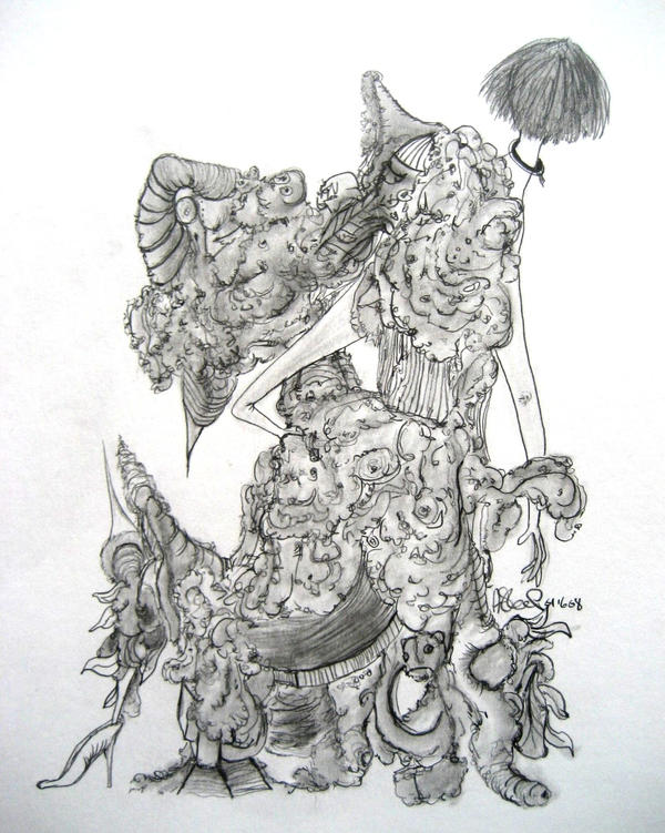 A Dress by AsleepArt