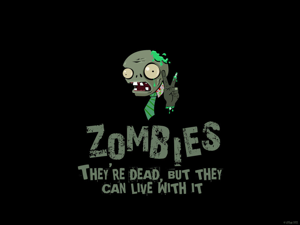 Zombie wallpaper by j1tah