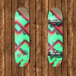 Vector Skateboard Deck 2