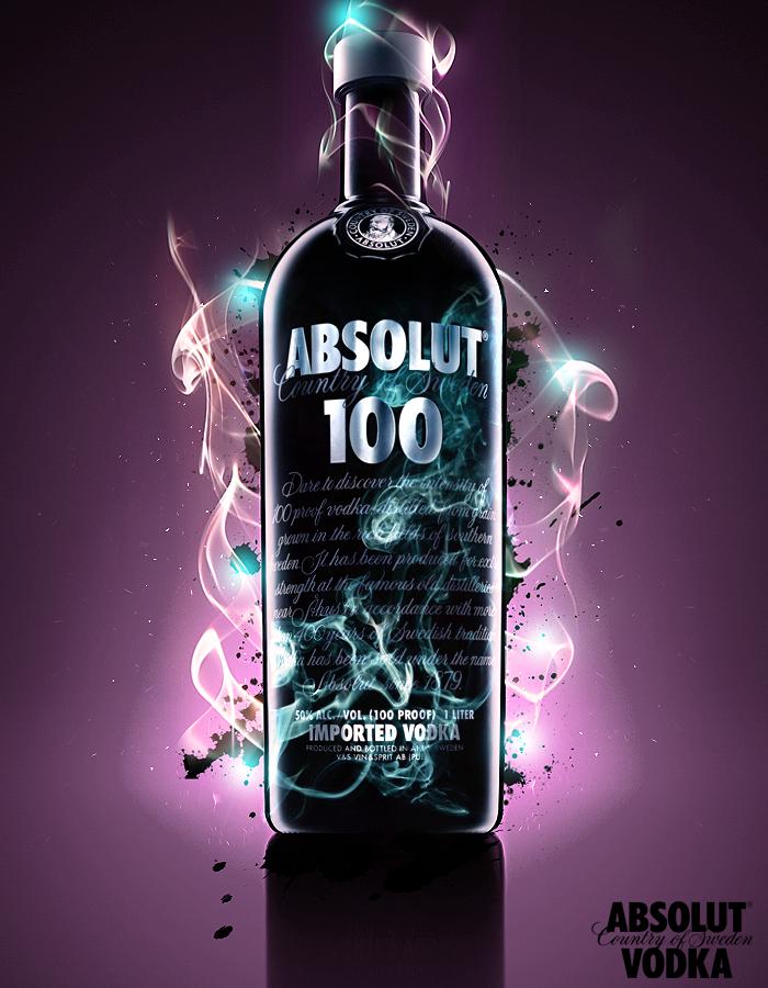 money advertising vodka