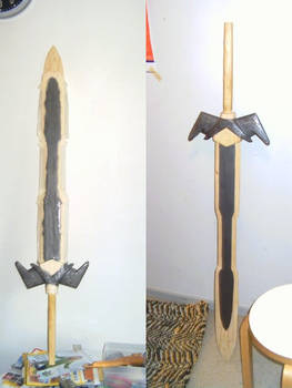 Crafts: painting the sword