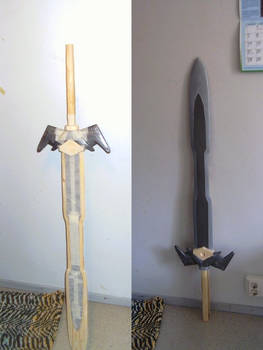 Crafts: painting the sword 2