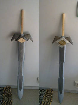 Crafts: painting the sword 3