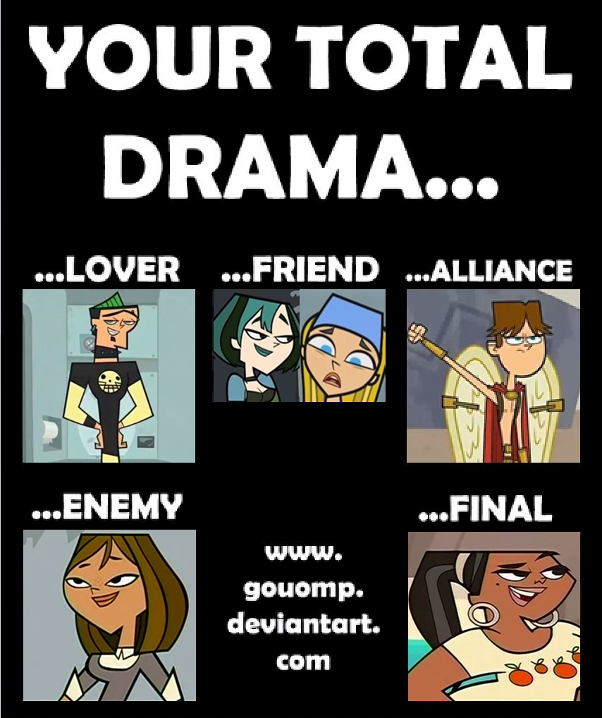 Your Total Drama ... My Opinion By Kirakiss478 On DeviantArt