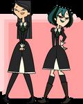 Heather and Gwen as Nagisa Aoi and Shizuma Hanazon