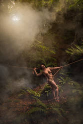 Tied to her forest- Roswell Ivory by Roswell-Ivory