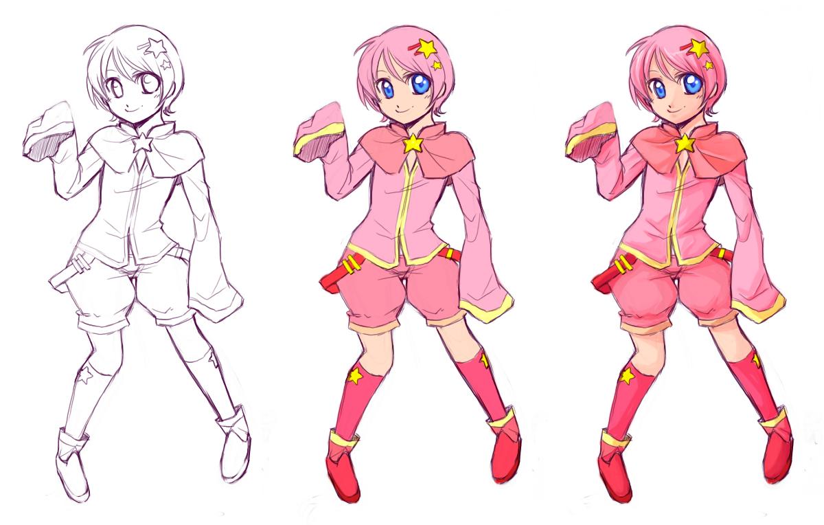 Kirby: Pchat Progress by Zilleniose on DeviantArt