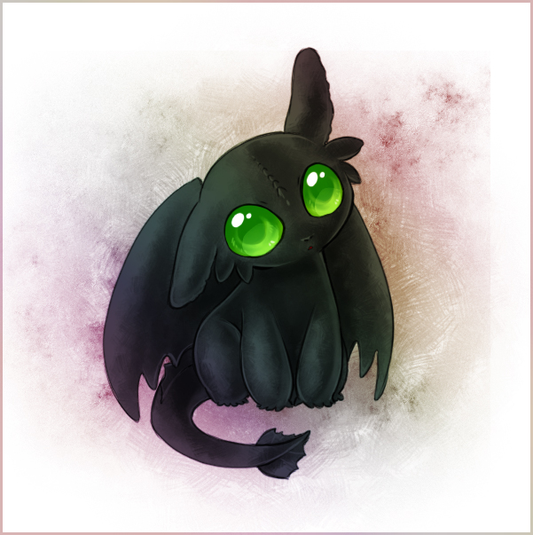 Baby Toothless by Zilleniose on DeviantArt