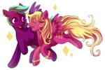MLP: Zoey and Dee