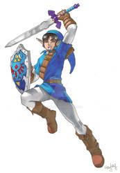 Matt as Link
