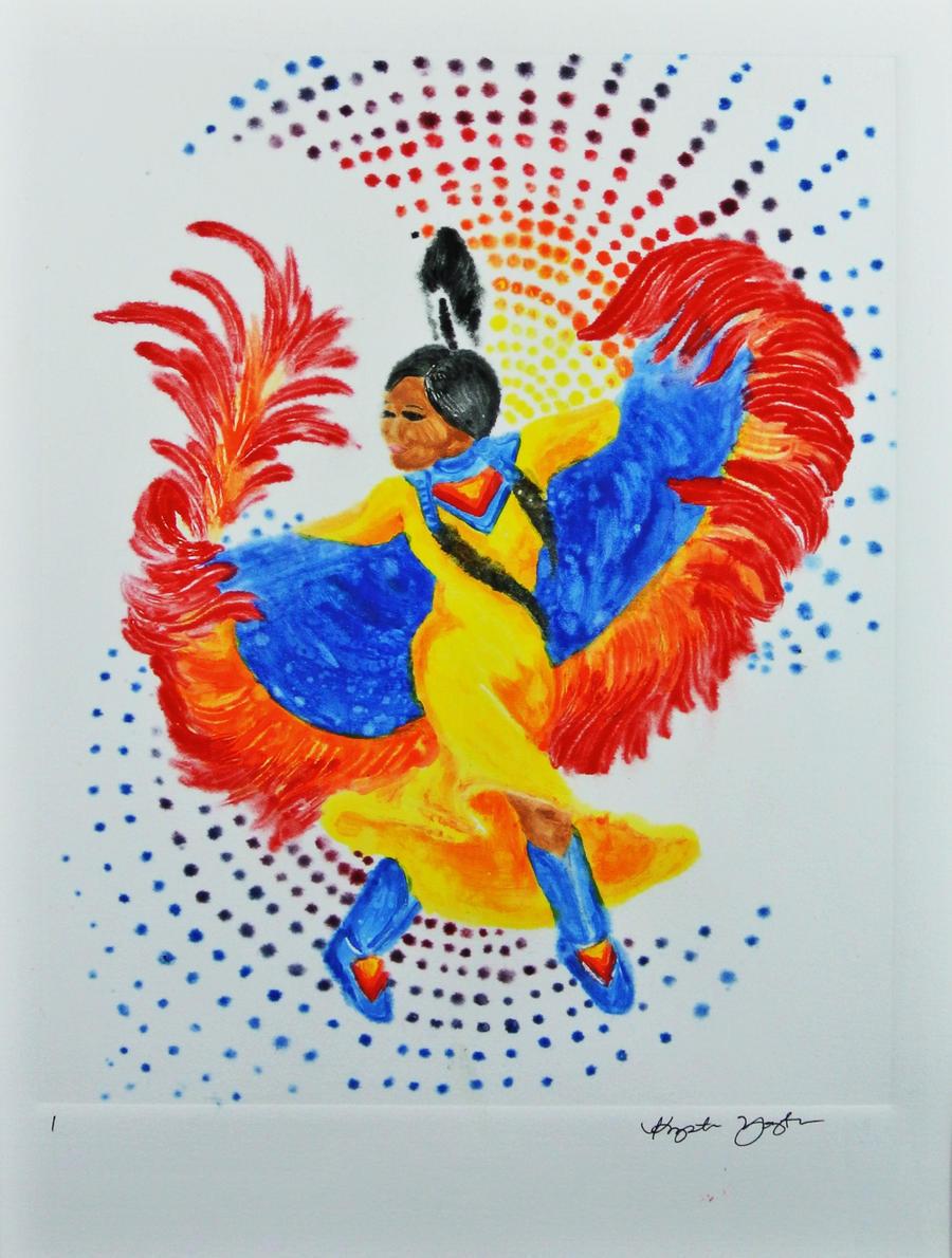 fancy shawl dancing by hatterfox