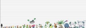 Pokemon Size Chart: Plantimorphs