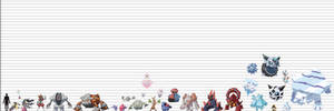Pokemon Size Chart: Mineraloids