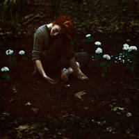 beneath the flowers by DarkGomo